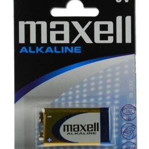 MAXELL μπαταρία 9V ALCALINE
