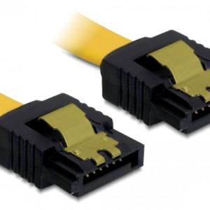 DELOCK Καλώδιο SATA III 7-pin σε 7-pin 82477