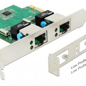 DELOCK PCI Express Card σε 2x Gigabit LAN 89999