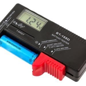 Συσκευή μέτρησης ισχύος μπαταρίας 1.5V & 9V AG372A με LCD οθόνη
