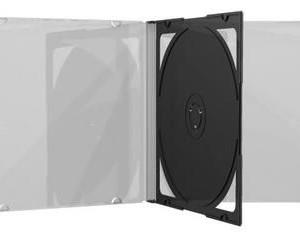 10.4 mm CD jewelcase με CLEAR 2 disc - 100TEM