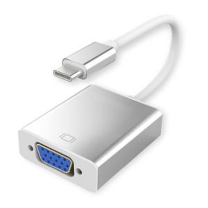 POWERTECH Converter CAB-UC008 USB 3.1 Type-C σε VGA 15pin