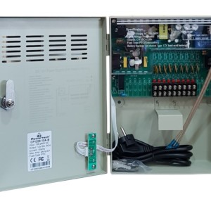 POWERTECH τροφοδοτικό CP1209-10A-B για CCTV-Alarm
