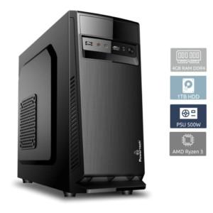 POWERTECH PC DMPC-0017 Ryzen 3 1300X