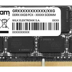 GOODRAM Μνήμη DDR3L SODimm GR1333S3V64L9-4G