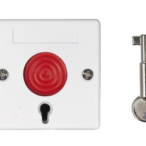 Ενσύρματο Κουμπί Πανικού με κλειδί απενεργοποίησης