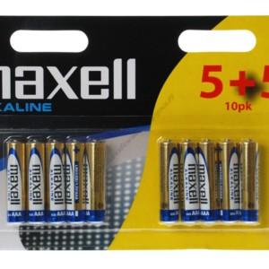 MAXELL Αλκαλικές μπαταρίες AAA LR03