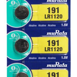 MURATA Αλκαλικές μπαταρίες ρολογιού LR1120 MR-LR1120