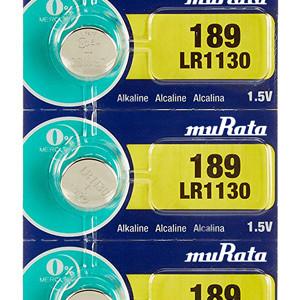 MURATA Αλκαλικές μπαταρίες ρολογιού LR1130 MR-LR1130