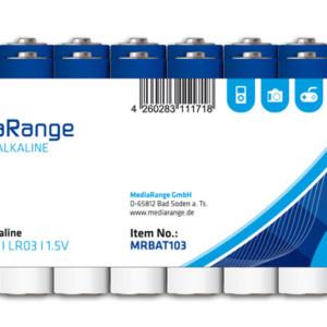 MEDIARANGE Premium Αλκαλικές μπαταρίες τύπου AAA LR03