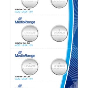 MEDIARANGE Αλκαλικές μπαταρίες LR54 (AG10) 1.5v