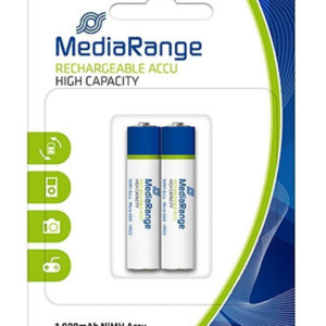 MEDIARANGE επαναφορτιζόμενη μπαταρία Micro AAA (HR03)