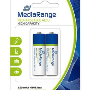 MEDIARANGE επαναφορτιζόμενη μπαταρία Mignon AA (HR6)
