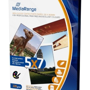 MEDIARANGE 130x180mm PP CARD