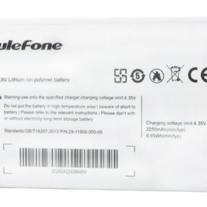 ULEFONE Μπαταρία αντικατάστασης για Smarphone Paris Lite