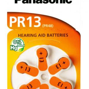 PANASONIC μπαταρίες ακουστικών βαρηκοΐας PR13