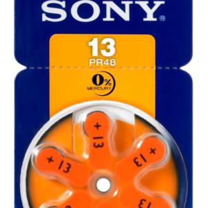 SONY μπαταρίες ακουστικών βαρηκοΐας PR13