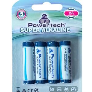 POWERTECH  Super Αλκαλικές μπαταρίες AA LR6