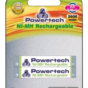 POWERTECH επαναφορτιζόμενη μπαταρία PT-351 2600mAh