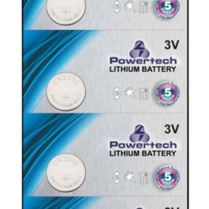 POWERTECH Μπαταρία λιθίου CR2032