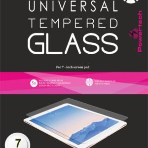 "POWERTECH Tempered Glass 9H(0.33MM) - Universal 7"" Screen Pad"