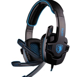 SADES Gaming Headset USB Wolfang