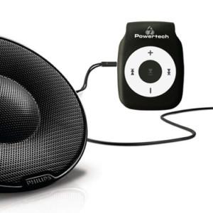 POWERTECH MP3 Player με Philips φορητά παθητικά ηχεία SBP1120