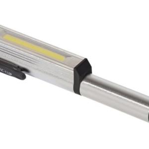 Φακός LED URZ0868 με μαγνητική βάση και κλιπ