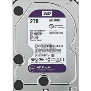 "WD Purple Surveillance Σκληρός Δίσκος 3.5"" 2TB"