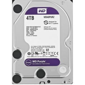 "WD Purple Surveillance Σκληρός Δίσκος 3.5"" 4TB"