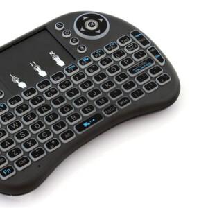 Ασύρματο mini πληκτρολόγιο AK198B με touchpad