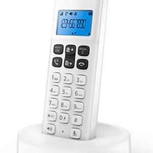 PHILIPS ασύρματο τηλέφωνο D1611W/34