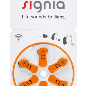 SIGNIA μπαταρίες ακουστικών βαρηκοΐας PR48 13