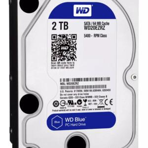 WD Blue Σκληρός Δίσκος WD20EZRZ 2TB