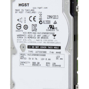 HGST used SAS HDD 0B26014