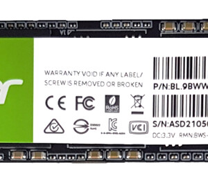ACER SSD PCIe Gen3x4 M.2 FA100