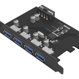ORICO κάρτα επέκτασης PCI-e σε 4x USB3.0 PME-4U