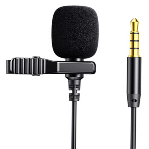 JOYROOM καλώδιο 3.5mm με ενσωματωμένο clip-on μικρόφωνο JR-LM1 3m
