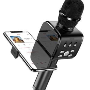 JOYROOM ασύρματο μικρόφωνο με βάση για smartphone JR-MC3