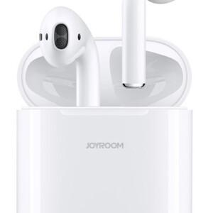 JOYROOM earphones με θήκη φόρτισης JR-T03S