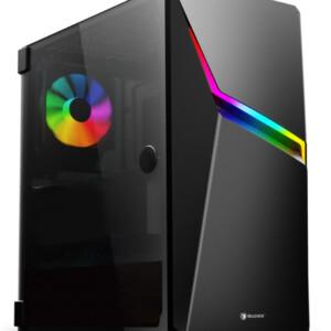 SADES PC case Niu mid tower 423x210x453mm