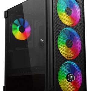 SADES PC case YU mid tower 396x210x453mm