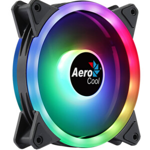 AEROCOOL LED ανεμιστήρας DUO-12ARGB