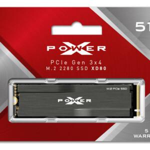 SILICON POWER SSD PCIe Gen3x4 M.2 2280 XD80