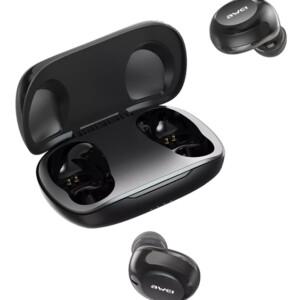 AWEI earphones με θήκη φόρτισης T20
