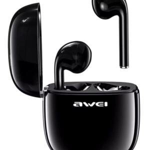 AWEI earphones με θήκη φόρτισης T28