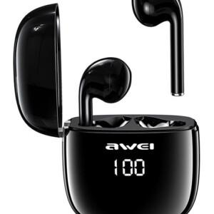 AWEI earphones με θήκη φόρτισης T28P