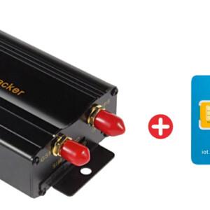 Bundle COBAN GPS Tracker αυτοκινήτου TK103B & προπληρωμένη κάρτα SIM Io3
