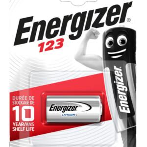 ENERGIZER μπαταρία λιθίου CR123A