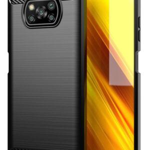 POWERTECH θήκη Carbon MOB-1645 για Xiaomi Poco X3 NFC/X3 Pro